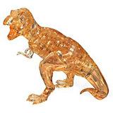 3D головоломка Crystal Puzzle Динозавр T-Rex, 49 элементов