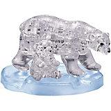 3D головоломка Crystal Puzzle Два белых медведя, 40 элементов