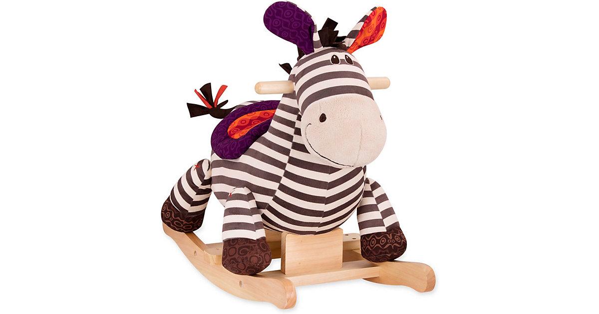 Schaukelpferd Zebra Kazoo braun/lila