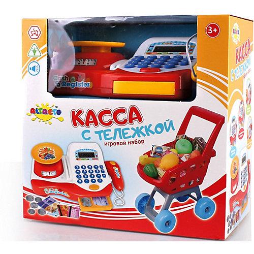 Игровой набор Altacto Касса с тележкой, свет, звук от ALTACTO