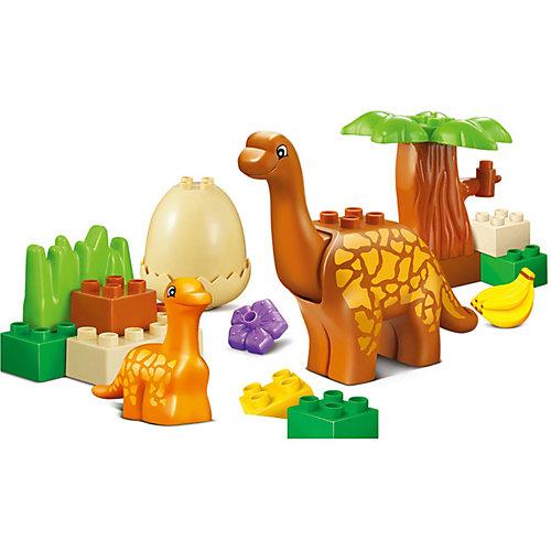 Конструктор Jdlt Динозавры: добрая семья, 20 деталей от Jdlt