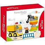 Конструктор Kids Home Toys Спецслужбы со зданием, 20 деталей