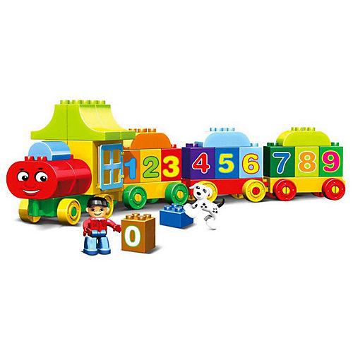 Конструктор Kids Home Toys Паровоз с цифрами, 50 деталей от Kids Home Toys