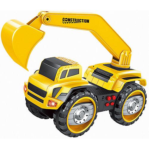 Фрикционная машина Handers Большие колеса: экскаватор, свет, звук от Handers