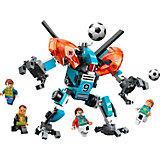 Конструктор Qman Футбол с роботом: механический форвард, 156 деталей