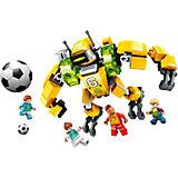 Конструктор Qman Футбол с роботом: большой защитник, 148 деталей