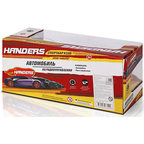 Радиоуправляемая машина Handers Рейсеры: спорткар X100, 1:18 от Handers