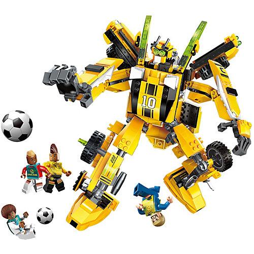 Конструктор Qman Футбол с роботом: капитан команды, 567 деталей от Qman