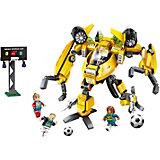 Конструктор Qman Футбол с роботом: запасной игрок, 359 деталей