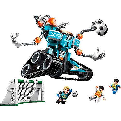 Конструктор Qman Футбол с роботом: невероятный вратарь, 351 деталь от Qman