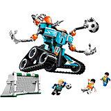 Конструктор Qman Футбол с роботом: невероятный вратарь, 351 деталь