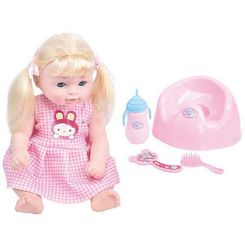 Кукла-младенец King time Малышка на горшке, 30 см от King Time