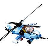 Конструктор Sluban Армия: вертолет-штурмовик, 129 деталей