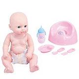 Кукла-младенец King time Малыш на горшке, 30 см