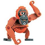 Мягкий 3D конструктор Bebelot Орангутанг, 56 деталей