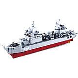 Конструктор Sluban Флот: корабль снабжения, 497 детали, 1:450