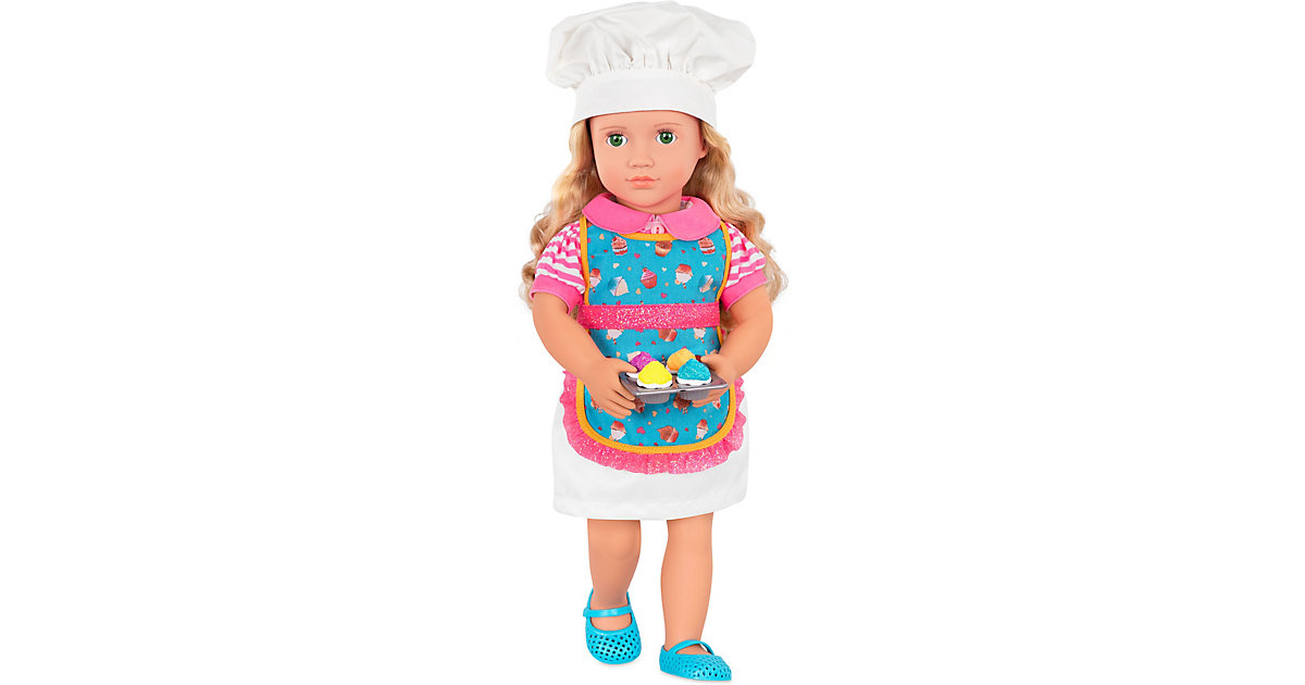 Deluxe Puppe Konditorin Jenny 46cm mehrfarbig