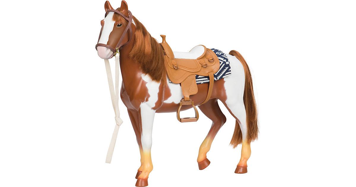 Pferd Schecke 50cm mehrfarbig