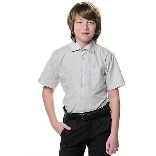 Рубашка Tsarevich - серый от Tsarevich
