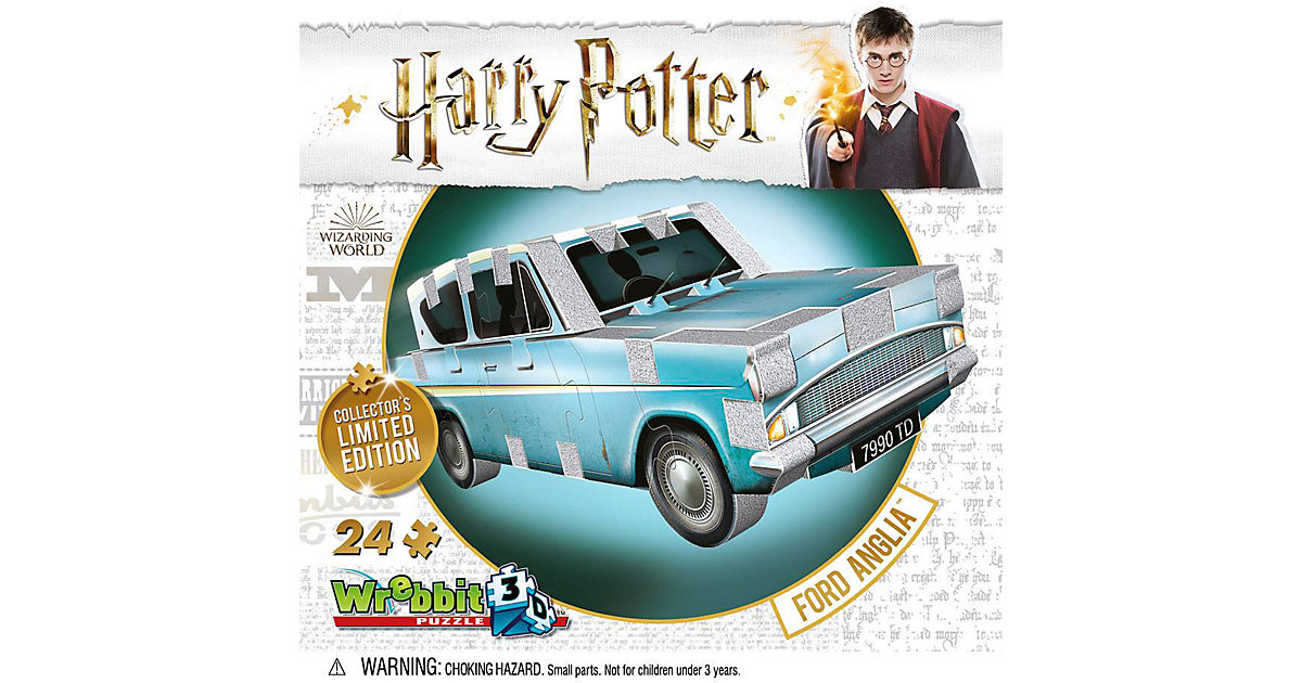 Harry Potter 3D Puzzle Ford Anglia Wrebbit