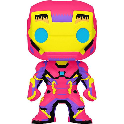 Фигурка Funko POP! Bobble: Marvel: Black Light: Железный человек, 48846 от Funko