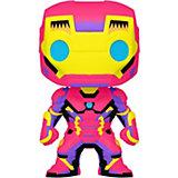 Фигурка Funko POP! Bobble: Marvel: Black Light: Железный человек, 48846