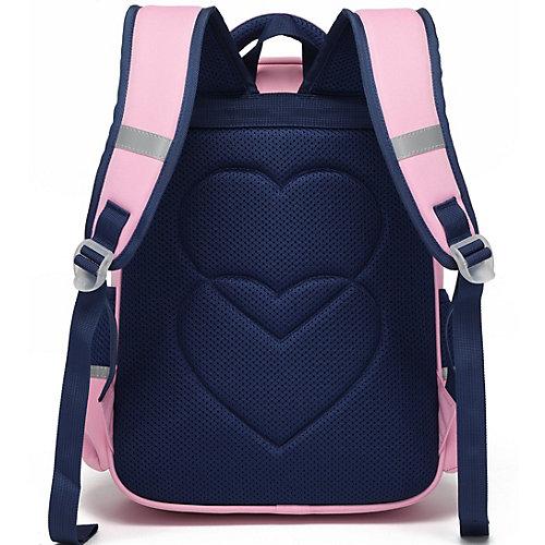 Рюкзак Aliciia, с пеналом - pink/blau от Aliciia