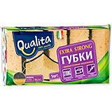 Кухонная губка QUALITA Extra Strong, 5 шт