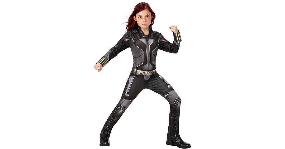 Kostüm Black Widow Movie schwarz Gr. 122/134 Mädchen Kinder