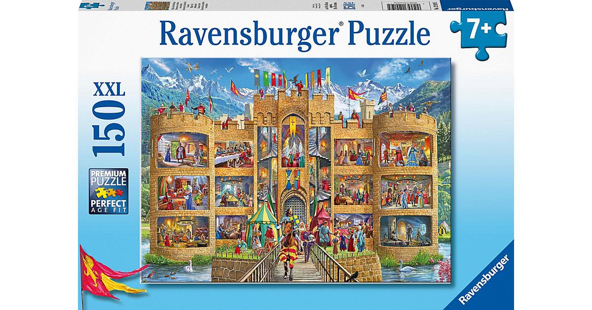 Puzzle Blick in die Ritterburg, 150 Teile