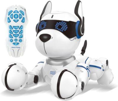 Power Puppy - Roboterhund schwarz/weiß