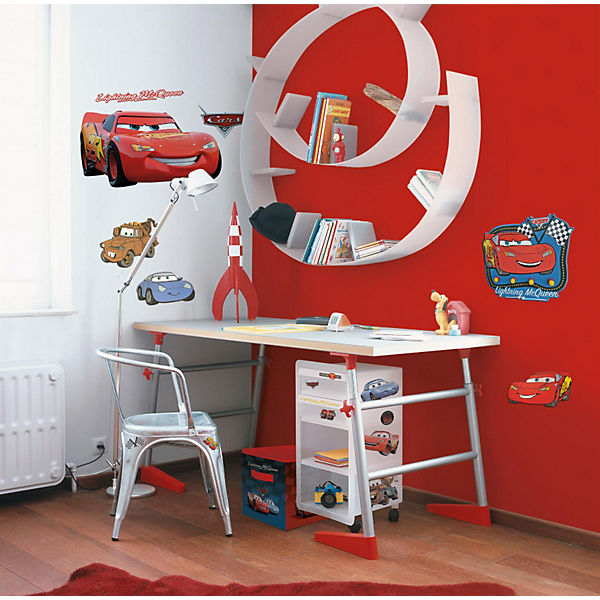 wandbilder gro cars disney cars mytoys. Black Bedroom Furniture Sets. Home Design Ideas