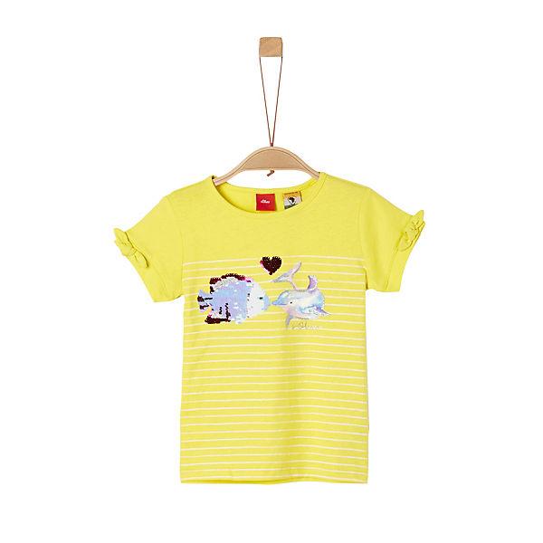 Baby Sweatshirt mit Ringelmuster s.Oliver Unisex