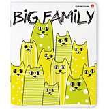 Комплект тетрадей Альт Big family, клетка, 48 листов