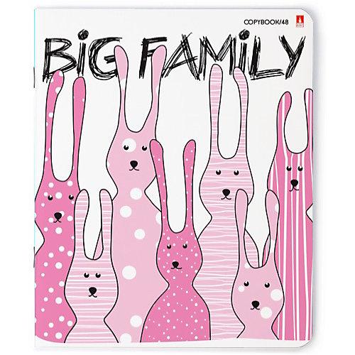 Комплект тетрадей Альт Big family, клетка, 48 листов от Альт