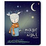 Комплект тетрадей Альт Magic night, клетка, 48 листов