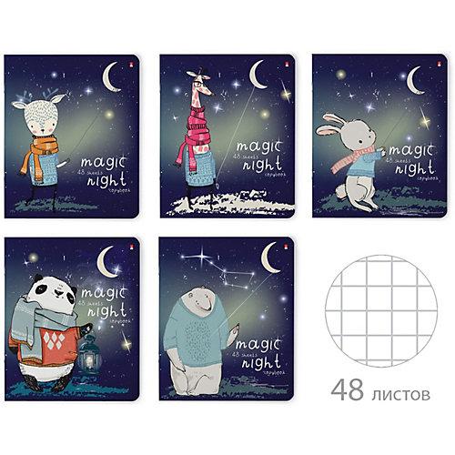 Комплект тетрадей Альт Magic night, клетка, 48 листов от Альт