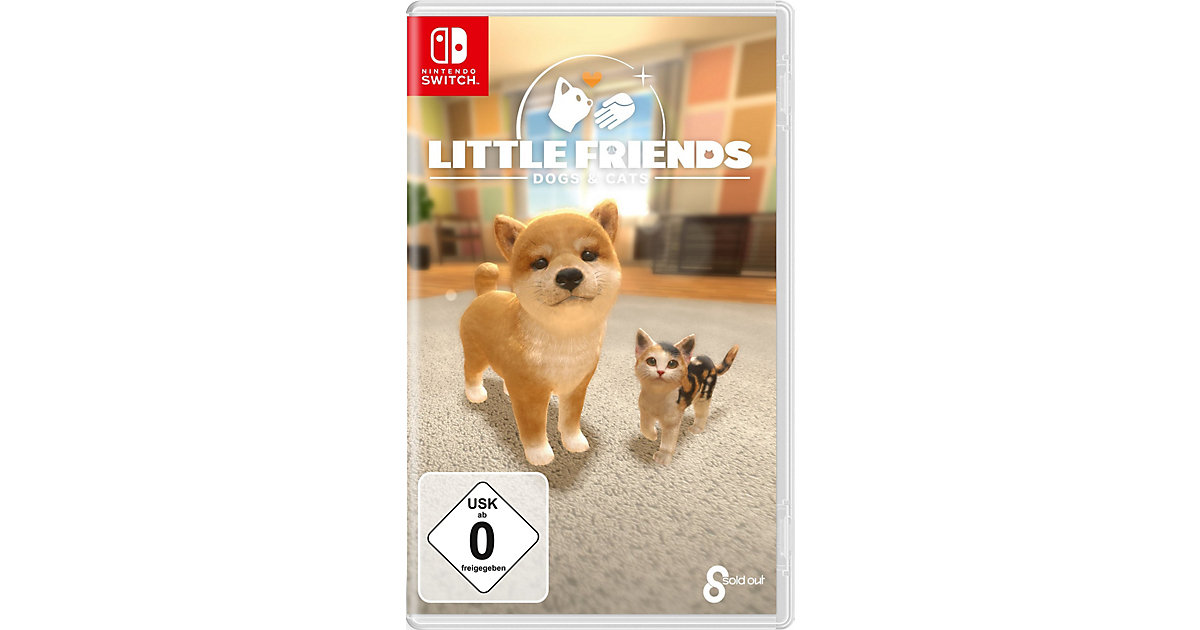 Nintendo Switch Little Friends: Dogs And Cats