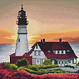 "Алмазная мозаика Molly ""Белый маяк"", 30х30 см"