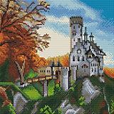 "Алмазная мозаика Molly ""Замок Лихтенштайн"", 30х30 см"