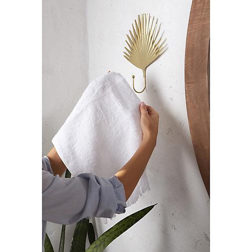 Полотенце LoveLife Fringe, 70х130 см - белый