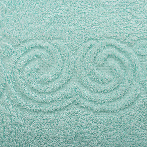 Полотенце LoveLife Border, 70х130 см - голубой
