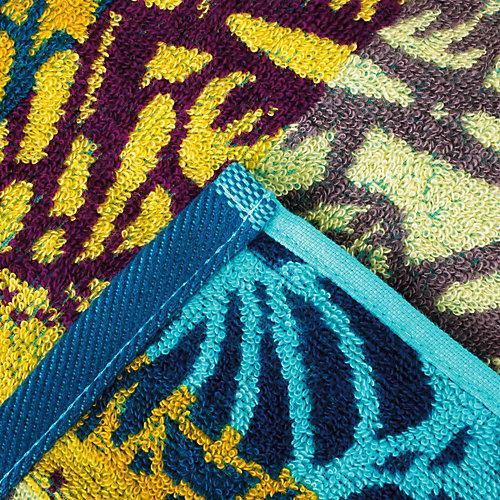 Полотенце Этель Песчаная лагуна, 50х90 см - разноцветный