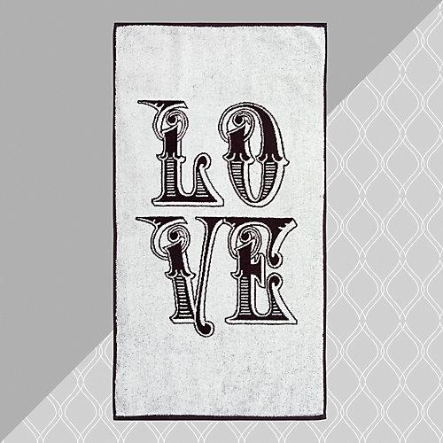 Полотенце Этель Любовь 2, 50х90 см - белый