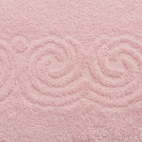 Полотенце LoveLife Border, 50х90 см - розовый