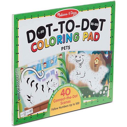 Раскраска по номера Melissa&Doug Домашние животные от Melissa & Doug
