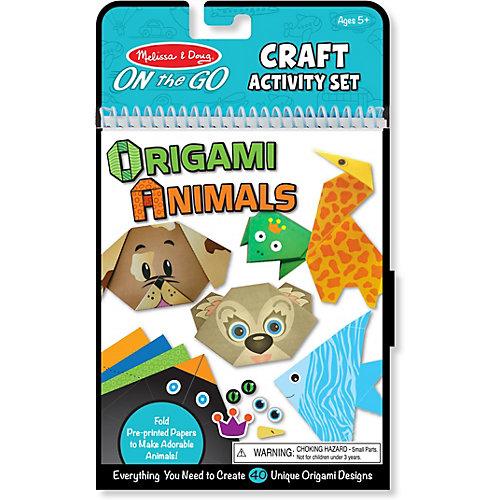 Набор для оригами Melissa&Doug Животные от Melissa & Doug