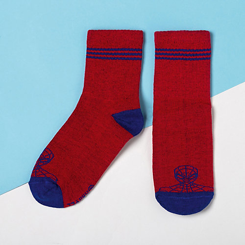 Носки Marvel, 2 пары - красный от Сима-ленд