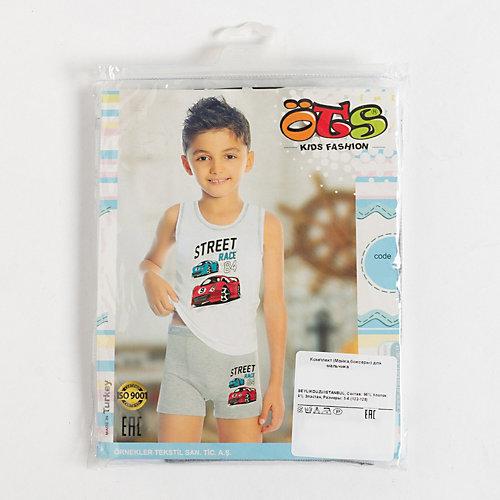 Комплект Ots: трусы и майка - белый от Ots