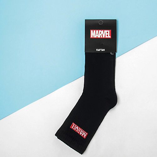 Носки Marvel - черный от Сима-ленд